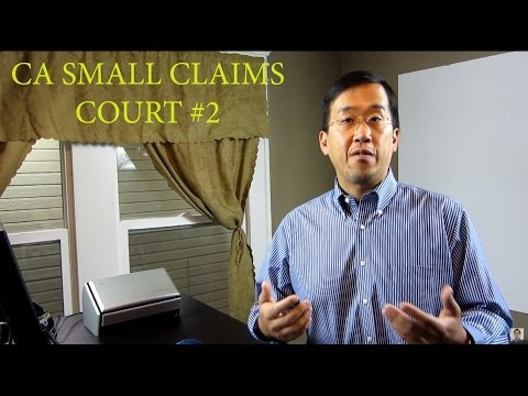 California Small Claims #2 - Are Lawyers Allowed - The Law Offices of Andy I. Chen