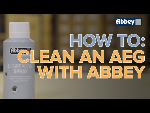 How to Clean an Airsoft Gun with Abbey Degreasing Spray