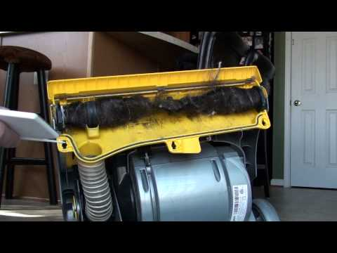 How to clean a beater bar on a vacuum cleaner!