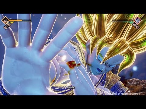 FIRST OFFICIAL GAMEPLAY! Dragon Ball Z vs Naruto! JUMP FORCE E3