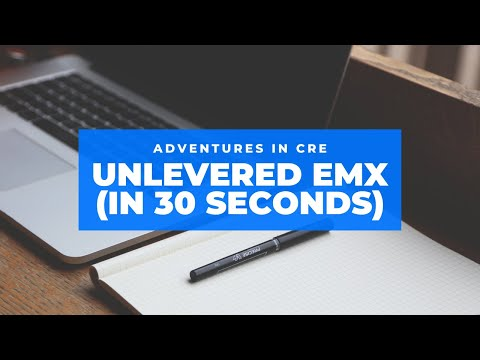 How to Calculate Unlevered Equity Multiple - 30 Second CRE Tutorials