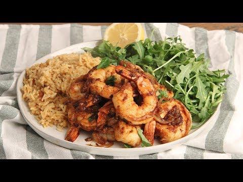 Smoky Shrimp and Rice Pilaf Recipe   Episode 1230