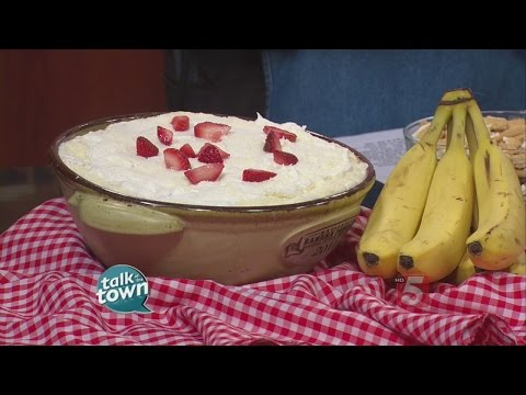 RECIPE #5245  STRAWBERRY BANANA PUDDING