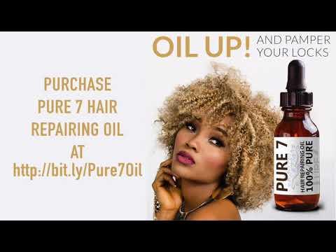 Best Hair Oil For Natural Hair - 100% Vegan🥦🌿Hair Growth Oil