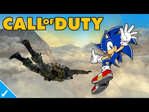 SONIC PLAYS BLACK OPS 2