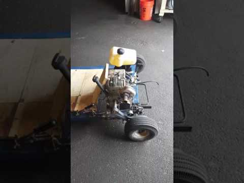 Homemade go kart bike and dolly parts all free !