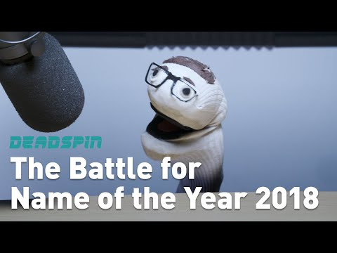 The Battle for Name of the Year 2018