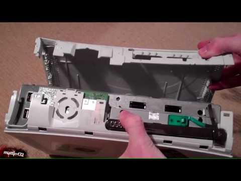 XBox360 stuck/jammed DVD drive fix