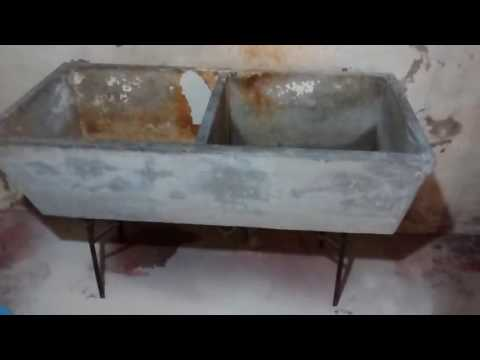 Restoring Utility Sink from the 1940s -  Part 1