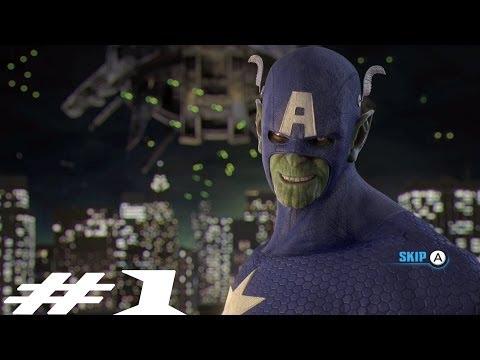 Marvel's Avengers: Battle For Earth - Intro #HD #HDGaming #WiiU #WiiUGameplay #Elgato #MarvelGames