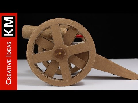 How to Make Powerful Cannon from Cardboard