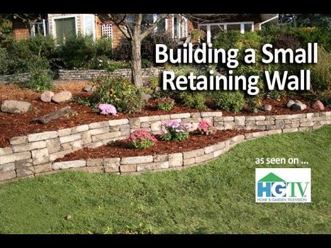 Weekend Project: Building a Small Retaining Wall