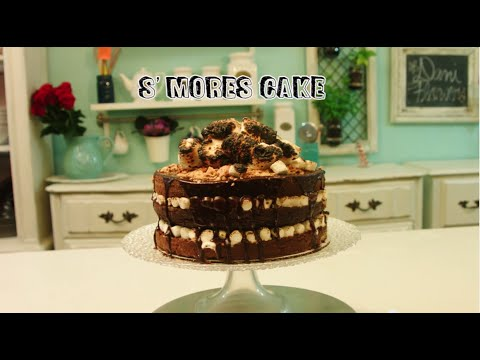Dani Flowers//S'mores Cake
