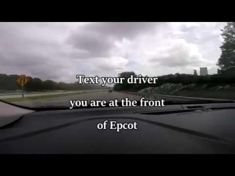 Orlando Uber Dude - Correct Pick Up Location at Epcot