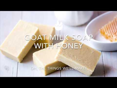 Goat Milk Soap with Honey