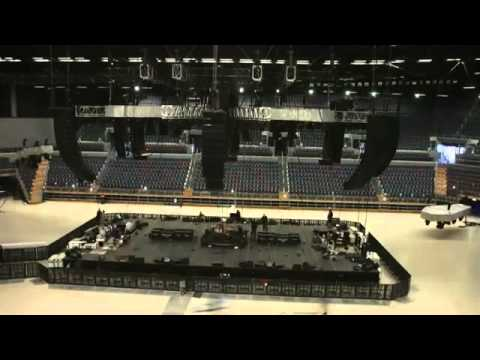 World Magnetic Stage Build -Vector Arena- [2010.10.12]