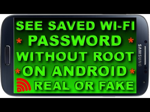 How to Find/See/Get Saved WiFi Password on Android Phone || Without ROOT || Explained Real or Fake