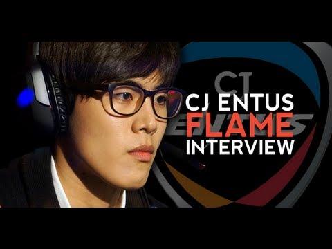 Cloth5 Interview with CJ Entus Blaze Top Laner Flame