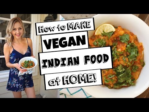 Easy VEGAN Indian Food | Pav Bhaji recipe!