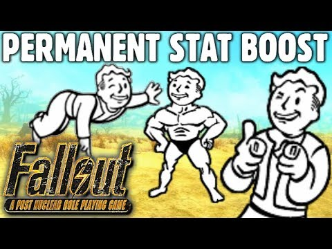 How to Get ALL SPECIAL Attributes Permanently Boosted Guide - Fallout 1