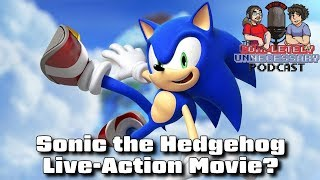 Sonic Live action Movie On The Way cupodcast