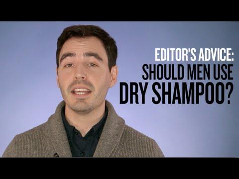 Men's Hair Tips: Should You Use Dry Shampoo?