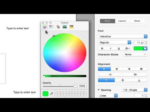 2. Change Color, Size, Font