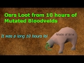 Download  Osrs Loot From # 4 10 Hours of Mutated Bloodvelds MP3,3GP,MP4