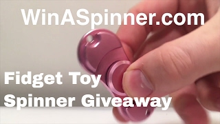 Download Fidget toy spinner Giveaway! WinASpinner Video