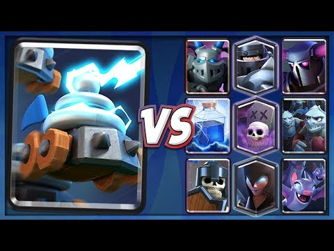 ZAPPIES VS ALL CARDS In Clash Royale! HOW TO COUNTER ZAPPIES | ZAPPIES 1 ON 1 COMPARISON EVERY CARD