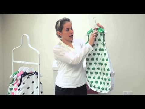 Babasac multi season sleep sack/ baby sleeping bag demonstration