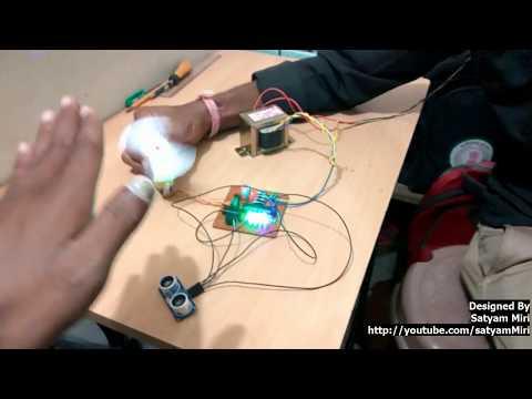 Atmega8 - HC SR-04 (ultrasonic interfacing) Motor Speed Control According to the distance