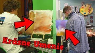 Namaľovali Sme Najkrajšie Obrazy w/ Selassie Van Gogh