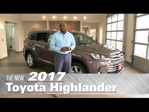 The All-New 2017 Toyota Highlander Limited - Minneapolis, St Paul, Brooklyn Center, MN - Review