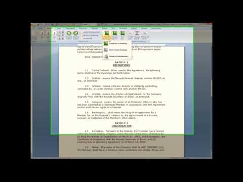 Law Office Solution Kwik Number demo video