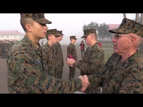 Morning Colors - Cadets of the Month - Battalion Competition Presentations - 1/15/2016