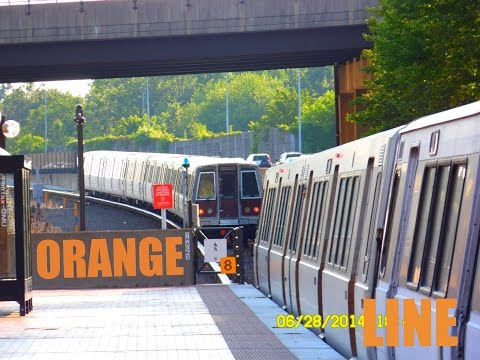 🚇/💺 WMATA Metrorail: Orange Line (OR) to Vienna... FULL RIDE!
