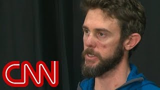 Runner who suffocated mountain lion with his foot describes attack