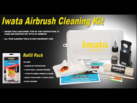 What's Inside the Iwata Airbrush Cleaning Kit HD