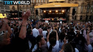 Manchester Attack: Choirs lead mass sing-along on anniversary