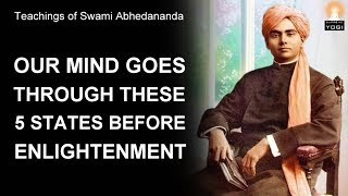 5 States of Mind (Evolution of Mind) | Swami Abhedananda