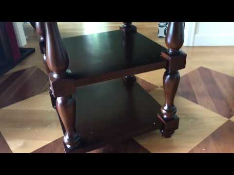 Standard Furniture Brand Dining Table Assembly Tutorial