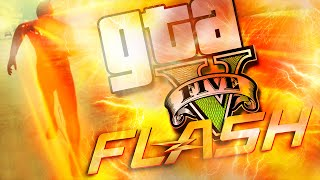 O Flash Mais LOCO! - GTA V PC (MOD The Flash)