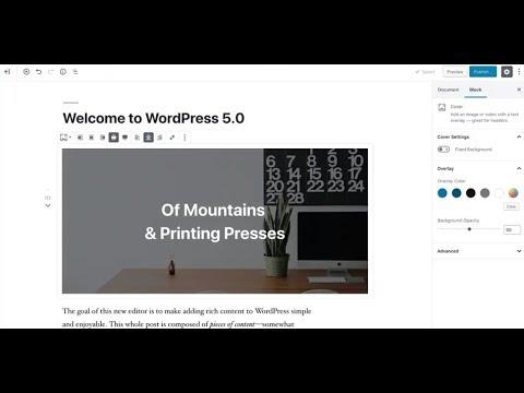 How to Install WordPress 5.0 on Windows 10