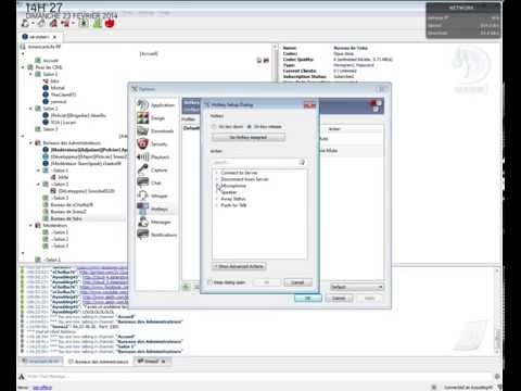 Configurer teamspeak pour la discussion en jeu ! -Arma