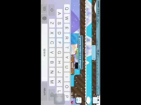 Growtopia - Making 4 Ice Dragon !!!!!