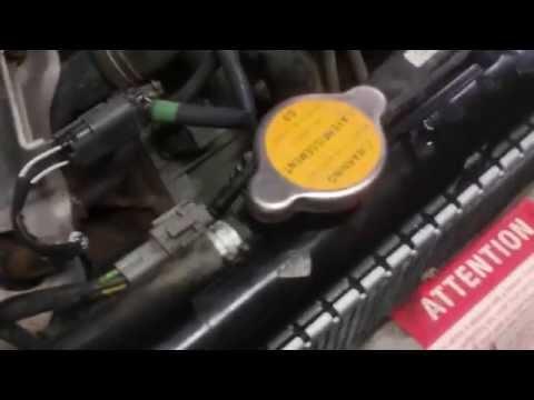 Nissan radiator replacement