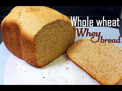 Homemade whey bread  (bread machine recipe)