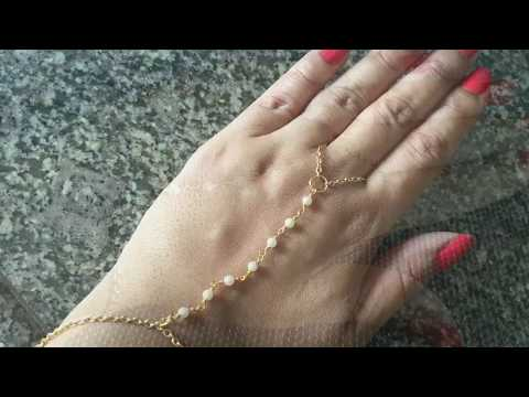 DIY Slave Bracelet/Ring Wrist Bracelet
