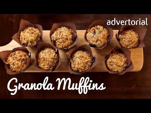BACK TO SCHOOL | Granola Muffins
